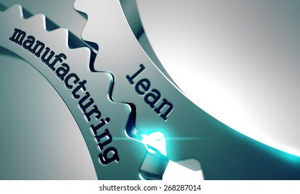 Lean Manufacturing on the Mechanism of Metal Gears.