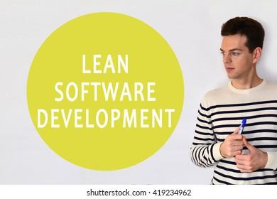 Lean software development. LSD.