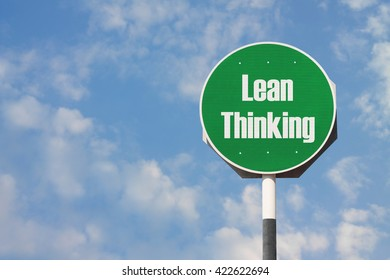 Lean Thinking Sign