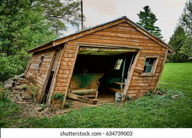 leaning shed stock photo edit now 634739003 shutterstock