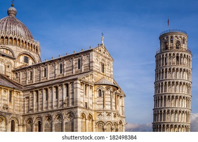 Leaning Tower of Pisa in Tuscany