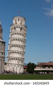 Leaning Tower of Pisa - A UNESCO World Heritage Site and one of the most recognized buildings in the world