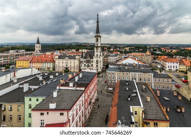 Leaning Tower of Zabkowice Slaskie, Poland