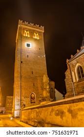 Leaning Tower of Zabkowice Slaskie, Poland