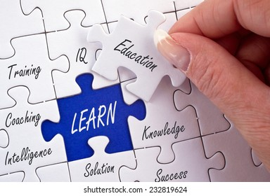 Learn - Business Concept
