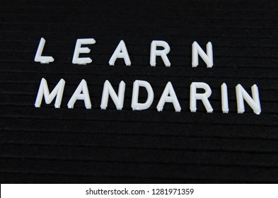 Learn Mandarin simple sign, motivation for studying
