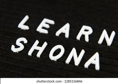 Learn Shona, Zimbabwean language