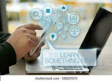 Learn Something New, Business Concept