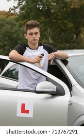 Learner Driver failed his driving test