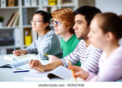 Learners at lecture