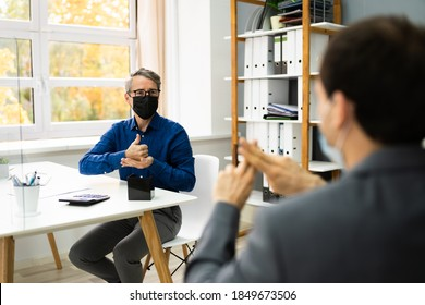 Learning Deaf People Language Sign With Face Mask