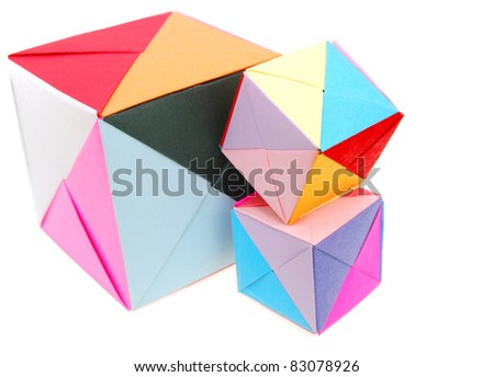 Learning Origami Blocks Stock Photo Edit Now 83078926 Shutterstock
