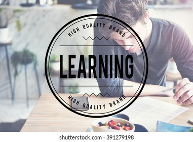 Learning Studying Training Skills Concept