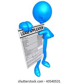 Lease Application Concept