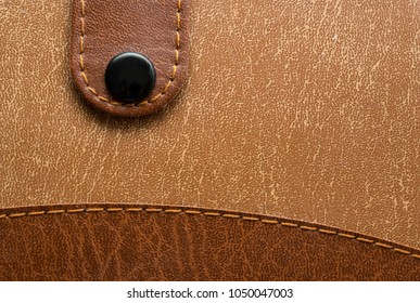 Leather, background, Notepad closure