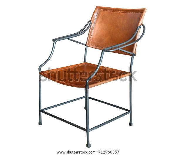 Miraculous Leather Chair Steel Structures Retro Style Royalty Free Dailytribune Chair Design For Home Dailytribuneorg