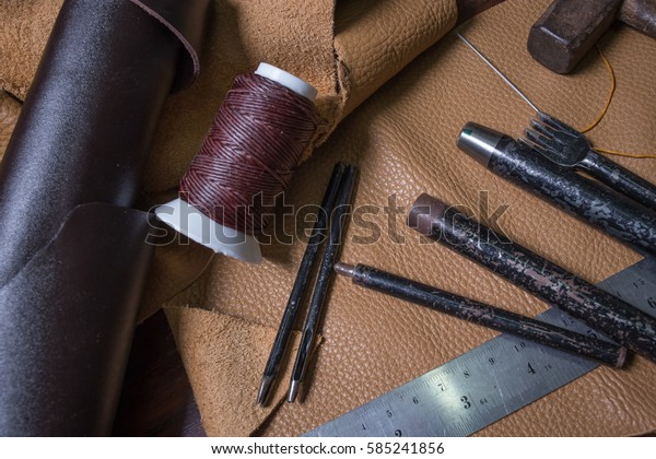 leather craft image for your mind design