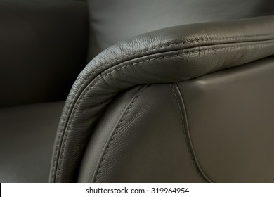 leather detail - upholstered furniture