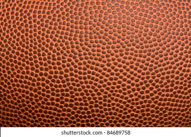Leather football texture