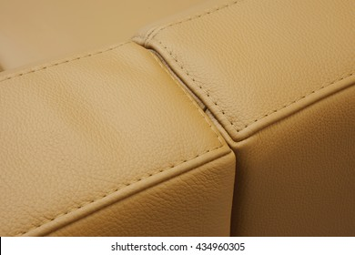 leather furniture detal