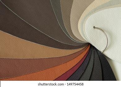 leather sampler