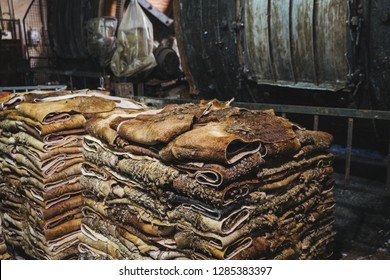 LEATHER TANNERY ITALY