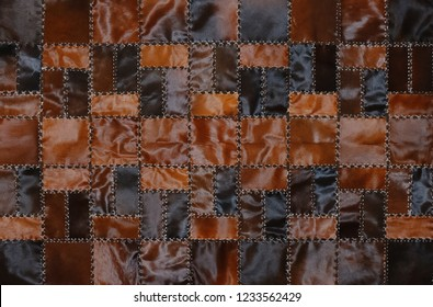 leather texture background. Abstract vintage cow skin backdrop
