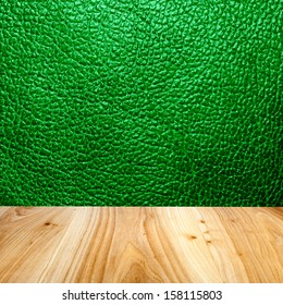leather wall with wood floor texture interior