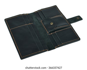 leather wallet , purse
