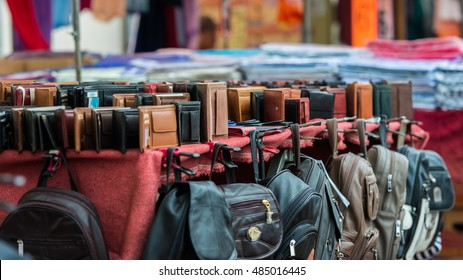 Leather wallets and other leather goods