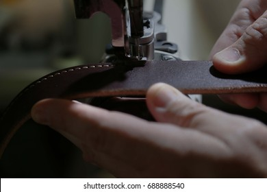 Leather Work - Sewing