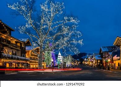Leavenworth Washington Christmas.Leavenworth Winter Images Stock Photos Vectors Shutterstock