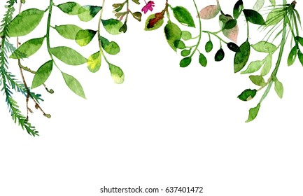 Leaves and flower can be used as greeting card, invitation card for wedding, birthday and other holiday.