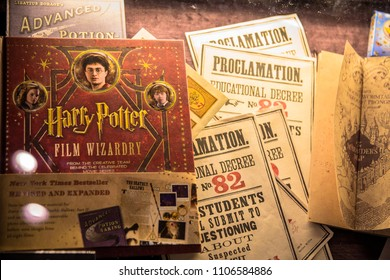 LEAVESDEN, UK - January 23rd 2017; Details of making the Harry Potter movie at the Making of Harry Potter Studio.