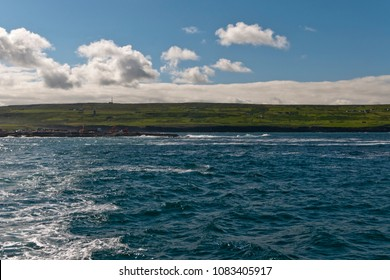 Leaving Doolin Harbor behind, the landscape around Doolin opens up.  Near Cliff Moher, County Claire, Ireland.