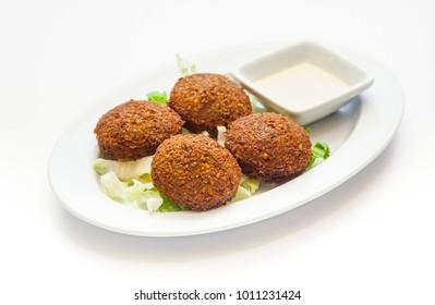 Lebanese Falavel Plate
