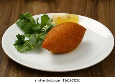 Lebanese Kibbeh, Stuffed Meatballs Food, Falafel, icli Kofta, Quibe