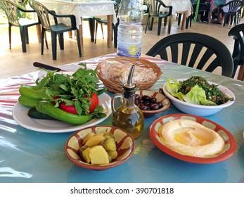 Lebanese lunch, Beirut