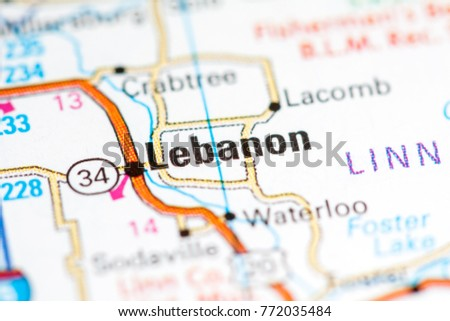 Lebanon Oregon Usa Stock Photo Edit Now 772035484 Shutterstock