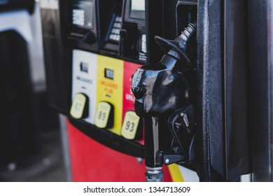 Lebanon, TN / United States -  March 16, 2019   Gas Station