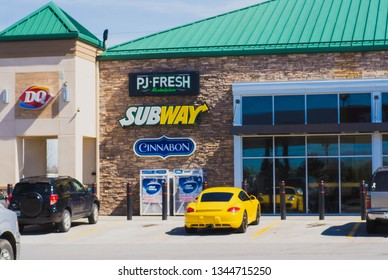 Lebanon, TN / United States -  March 16, 2019   Businesses and Fast Food