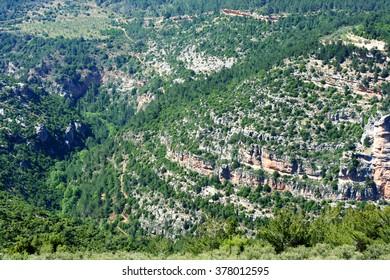Lebanon's Qadisha Valley landscape