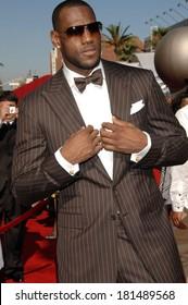 LeBron James at 2007 ESPY AWARDS, The Kodak Theatre, Los Angeles, CA, July 11, 2007