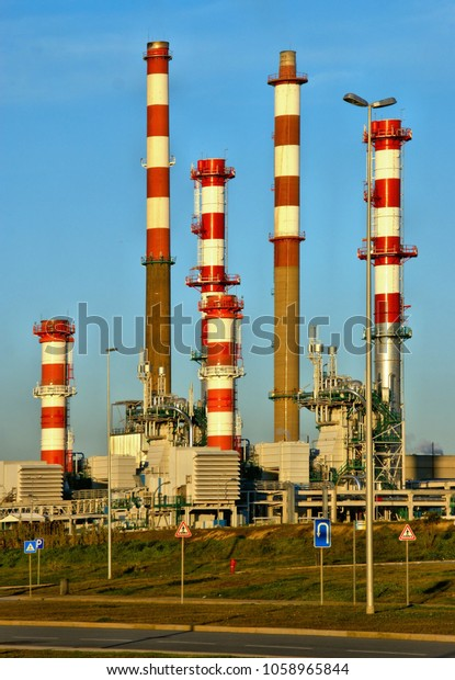 Leca da Palmeira Refinery in Matosinhos, Portugal