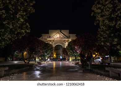 Lecce, Italy - June 20th 2015 : Lecce is a historic city in southern Italy, the capital of the province of Lecce as well as one of the most important cities of Apulia.