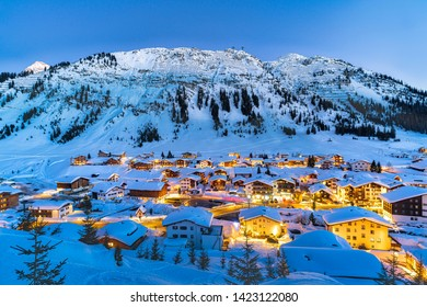 Lech at Arlberg,  one of the most popular holiday regions in the world.