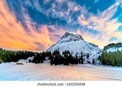 Lech is now one of the most popular holiday regions in the world. It is  located some 1,450 to 2,450 metres above sea Level in Austria.