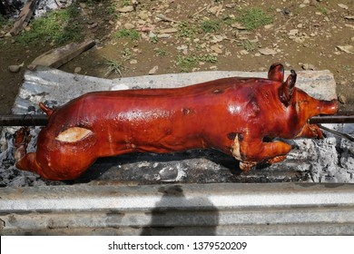 Lechon, Philippines Style Roasted Whole Pig