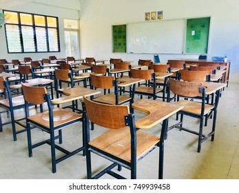 Lector chair, Lector chair in the classroom without students.