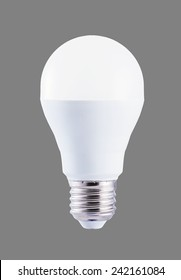 LED bulb with E27 socket, plastic body